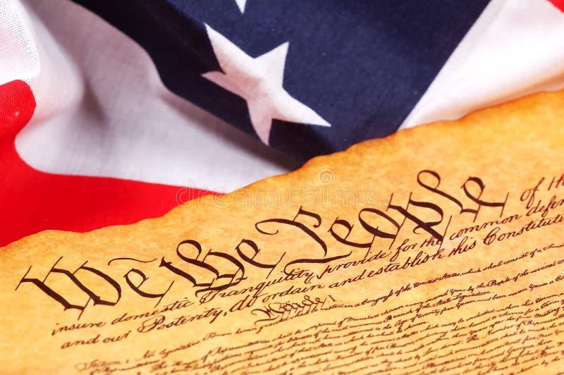 宪法 免版税库存照片