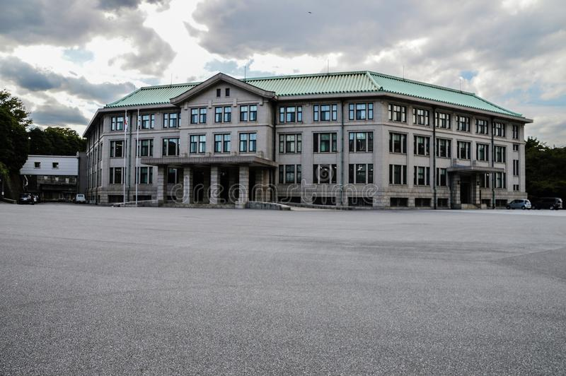 宫内厅在东京日本 库存图片