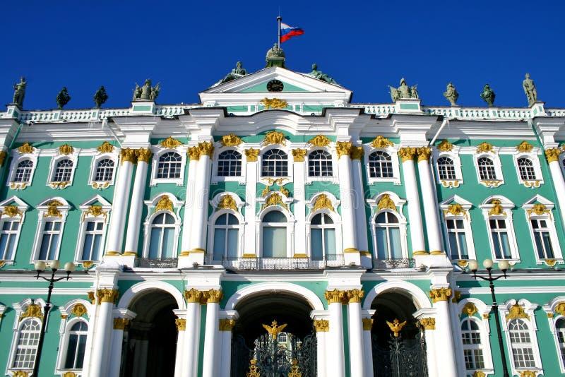宫殿冬天 库存照片