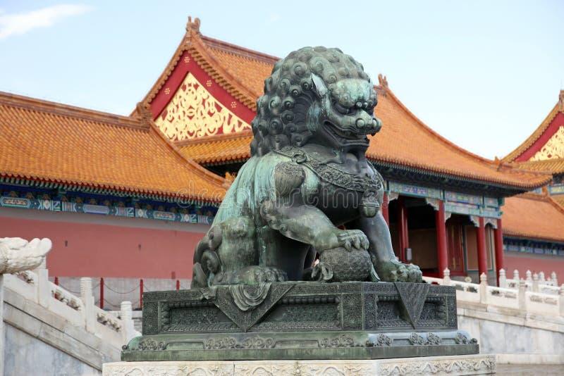宫殿博物馆在紫禁城 免版税库存照片