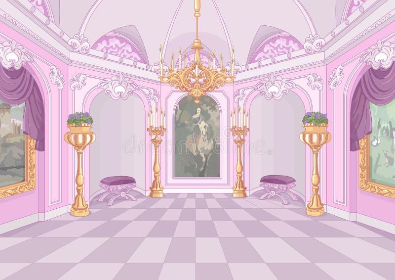 宫殿大厅 皇族释放例证