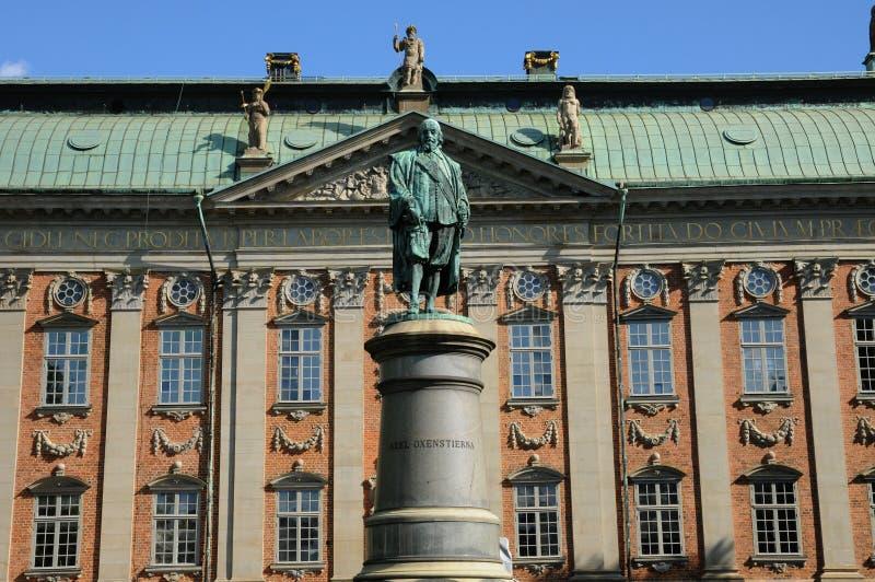 宫殿斯德哥尔摩 免版税库存图片