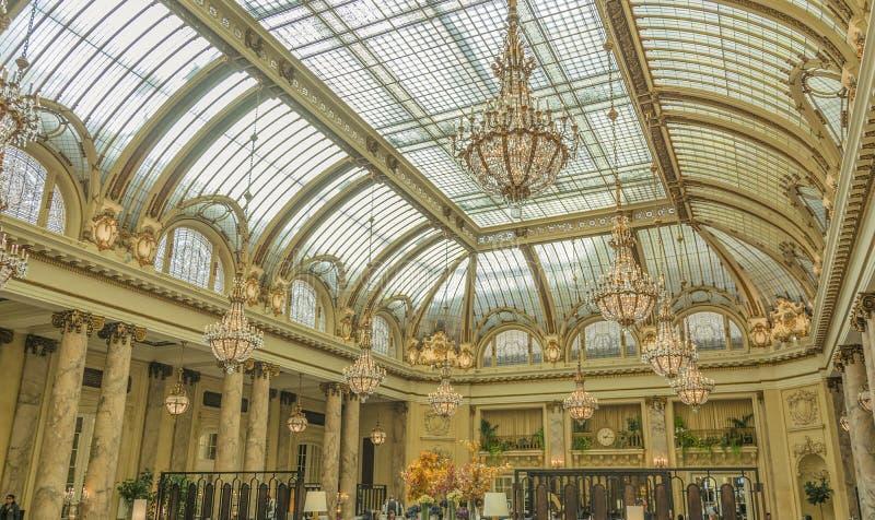 宫殿旅馆在旧金山 库存照片