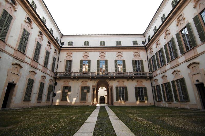 宫殿的入口 库存图片