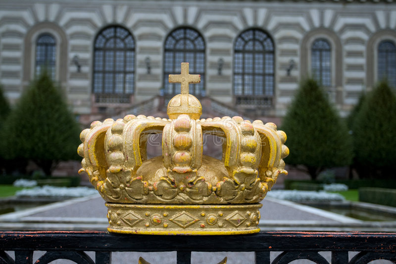 宫殿皇家stckholm 免版税库存图片