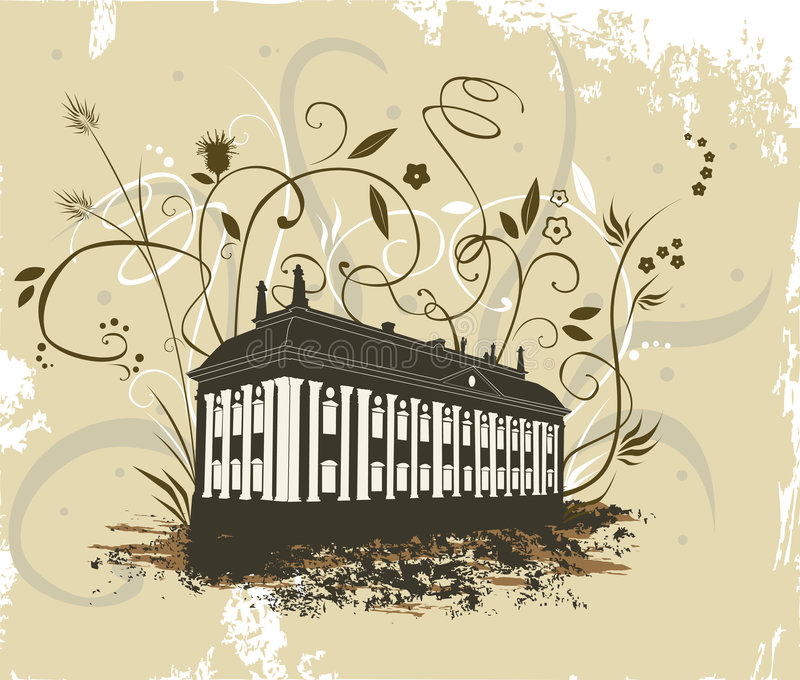 宫殿 免版税库存图片