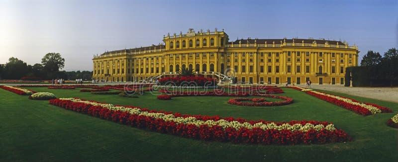 宫殿Schonbrunn,维也纳 库存照片
