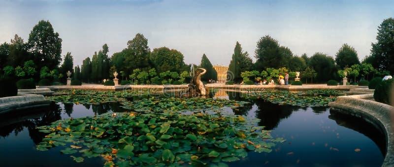 宫殿Schonbrunn,维也纳 免版税库存照片