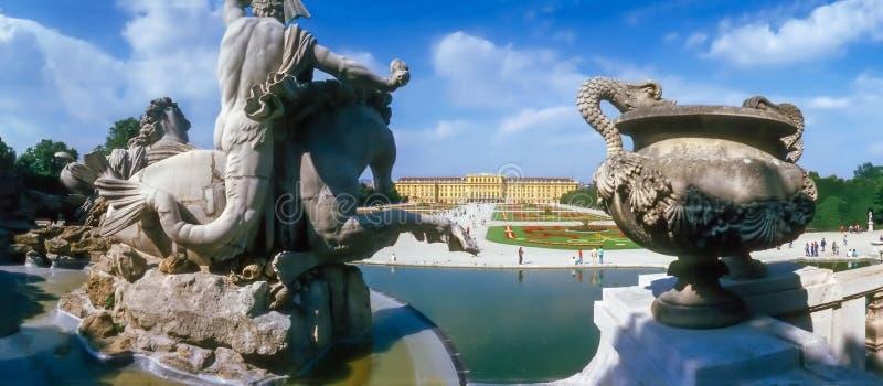 宫殿Schonbrunn,维也纳 库存图片