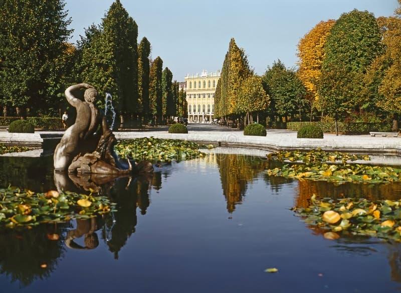 宫殿Schonbrunn 图库摄影