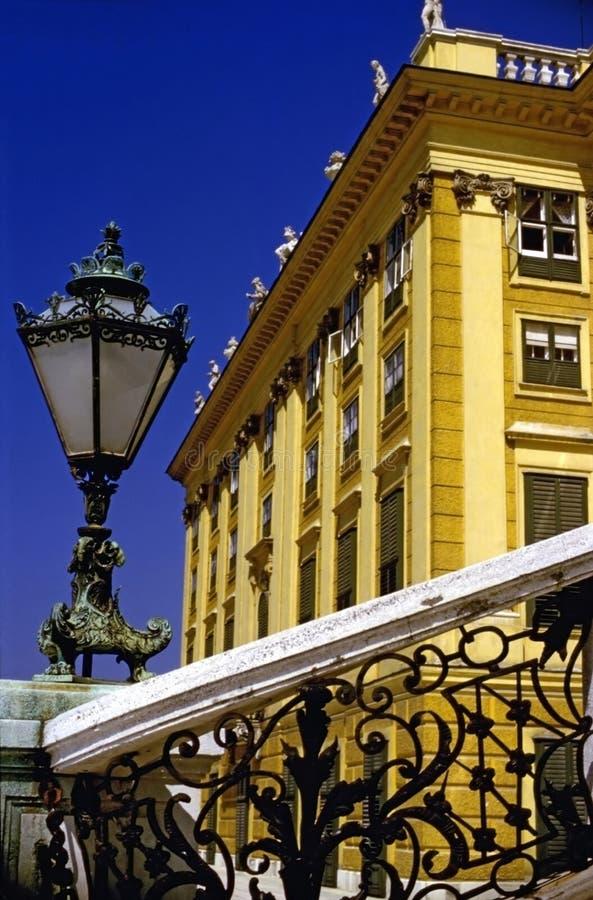 宫殿Schonbrunn 库存照片