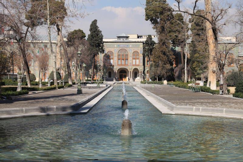 宫殿shah德黑兰 免版税库存图片