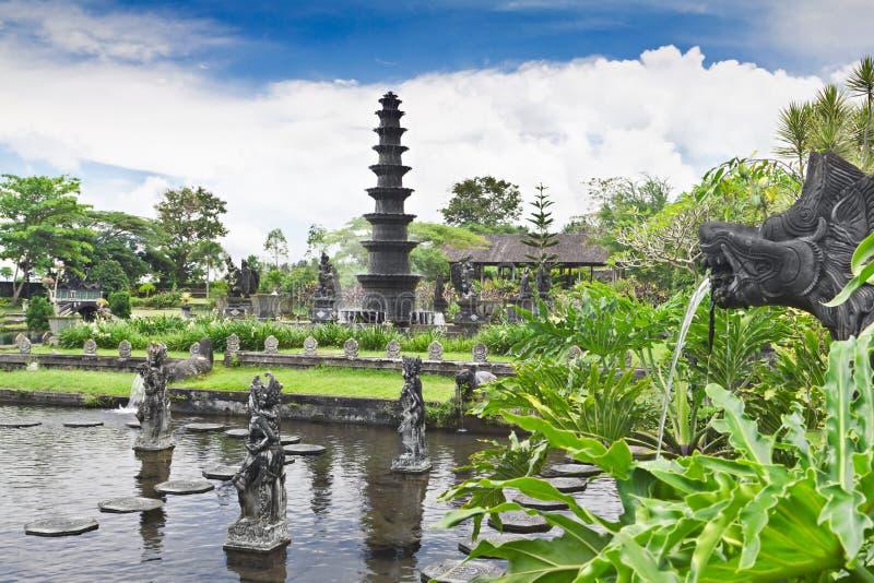 宫殿tirtagangga水 库存图片
