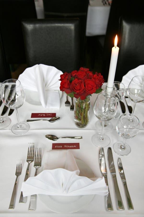 宴会婚礼 免版税库存图片