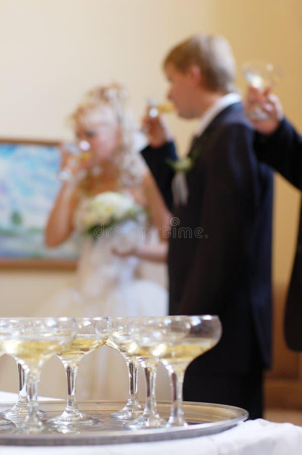 宴会 库存照片
