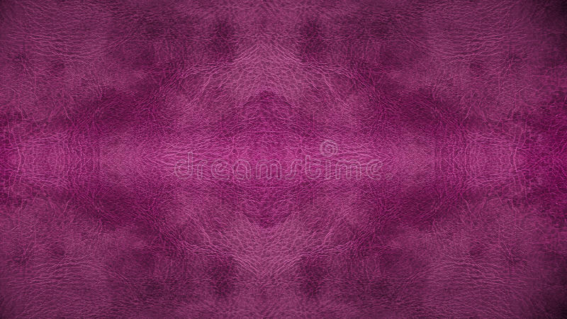 家具材料的半新紫色桃红色皮革无缝的样式背景纹理 免版税库存照片
