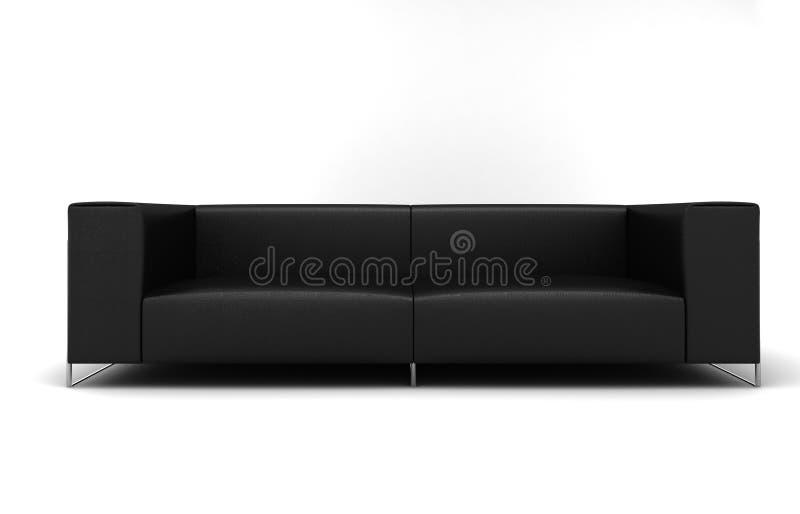 家具沙发 向量例证