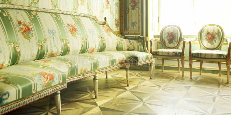 家具维多利亚女王时代的著名人物 库存照片