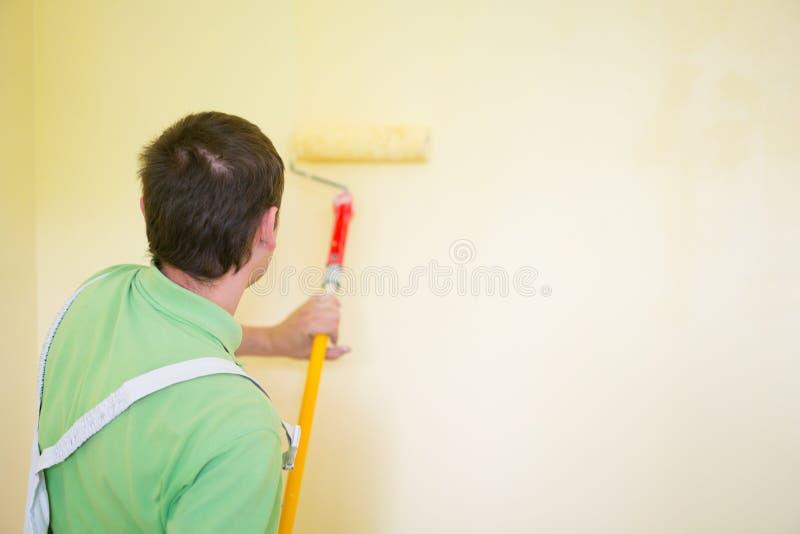 画家和decoraters 免版税库存照片