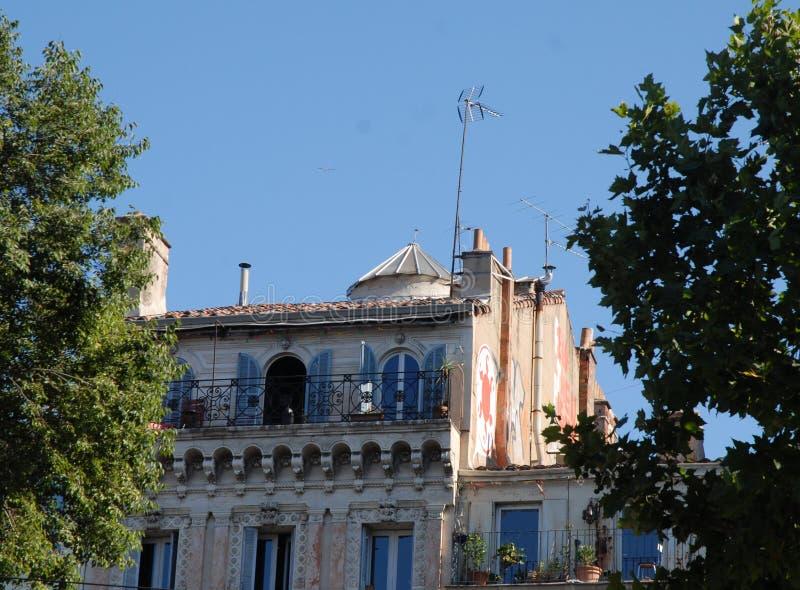 家在马赛 库存图片