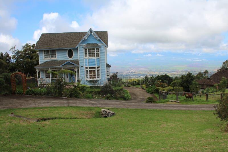 家在Haleakala 免版税图库摄影