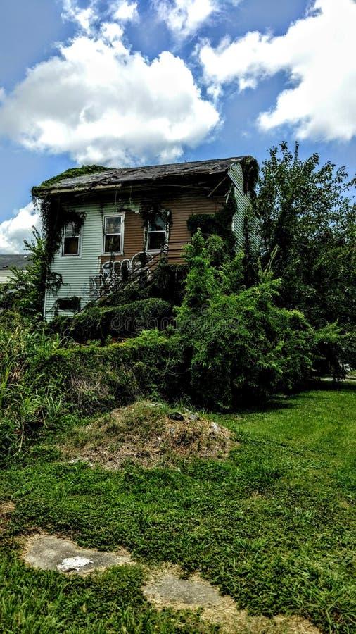 家在Treme,新奥尔良 免版税库存照片