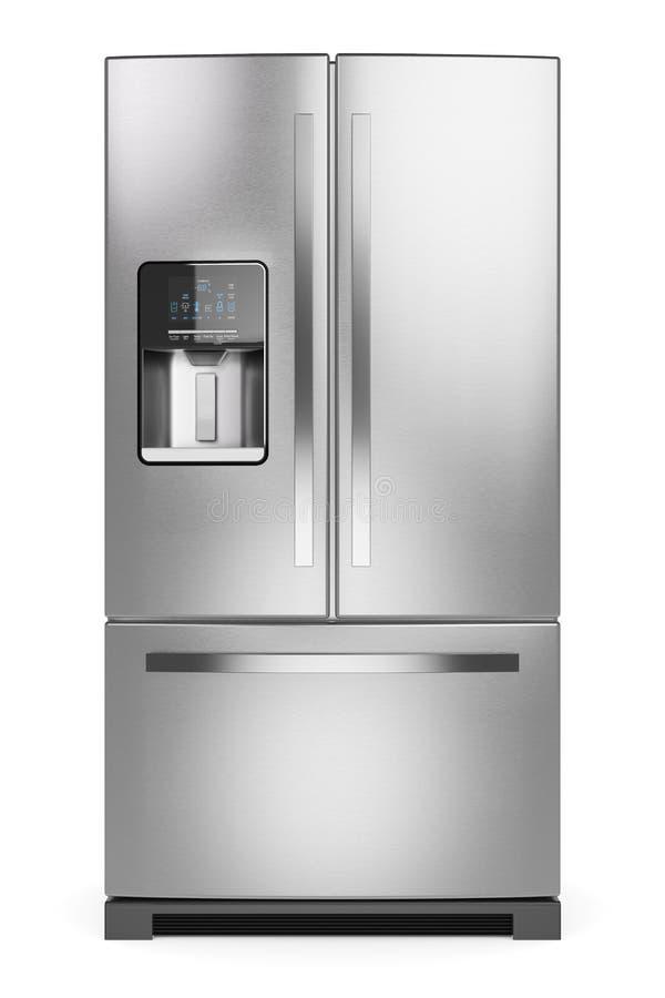 家庭冰箱 向量例证