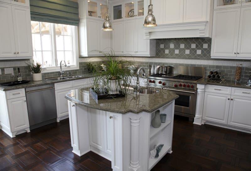 家庭厨房豪华 库存图片