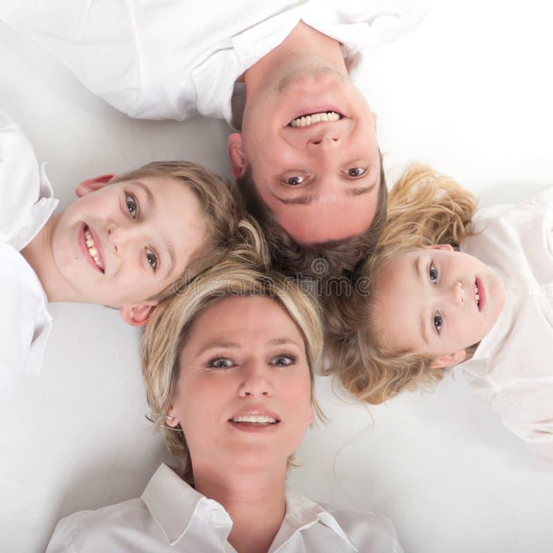 家庭圈子 免版税库存图片