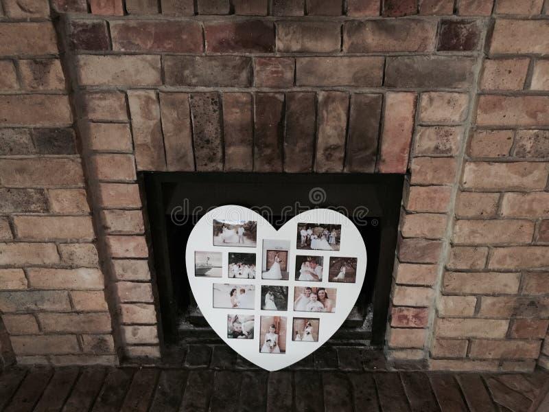 家庭壁炉 免版税库存照片