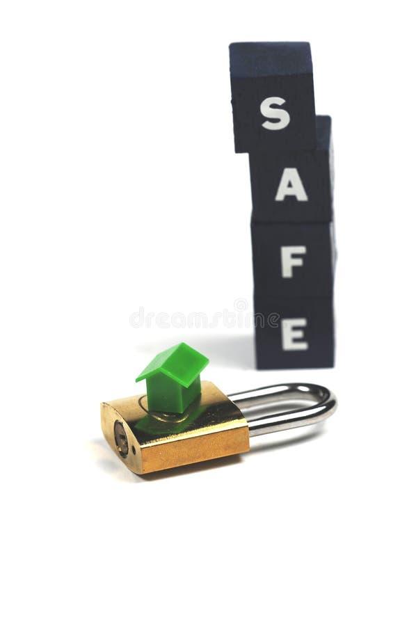 家庭安全 免版税库存照片