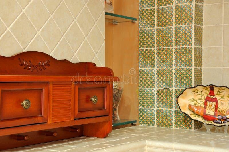 家庭家具和装饰品 免版税库存图片