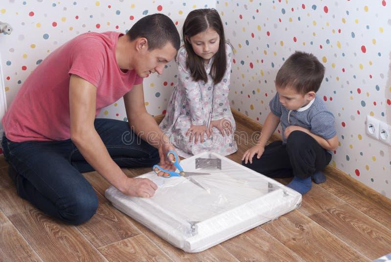 家庭家具汇编,桌 免版税图库摄影