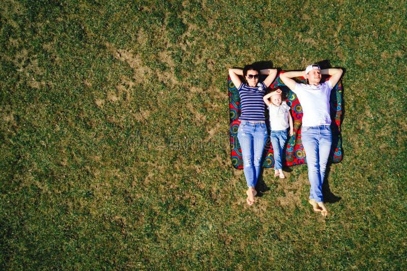 家庭幸福概念 库存照片