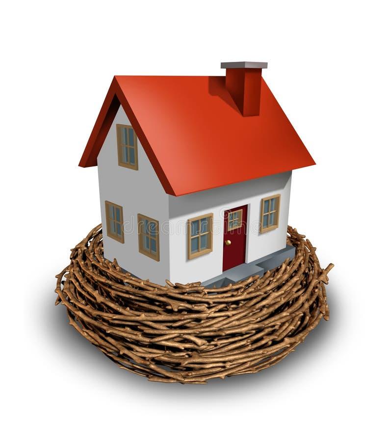 家庭投资 库存例证