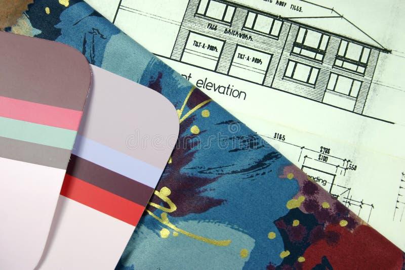 家庭新的计划 免版税库存图片