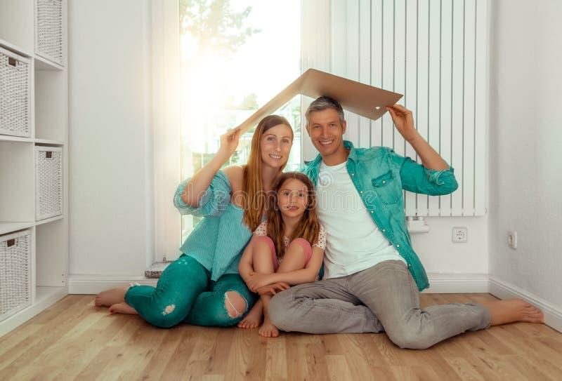 家庭概念 免版税库存图片