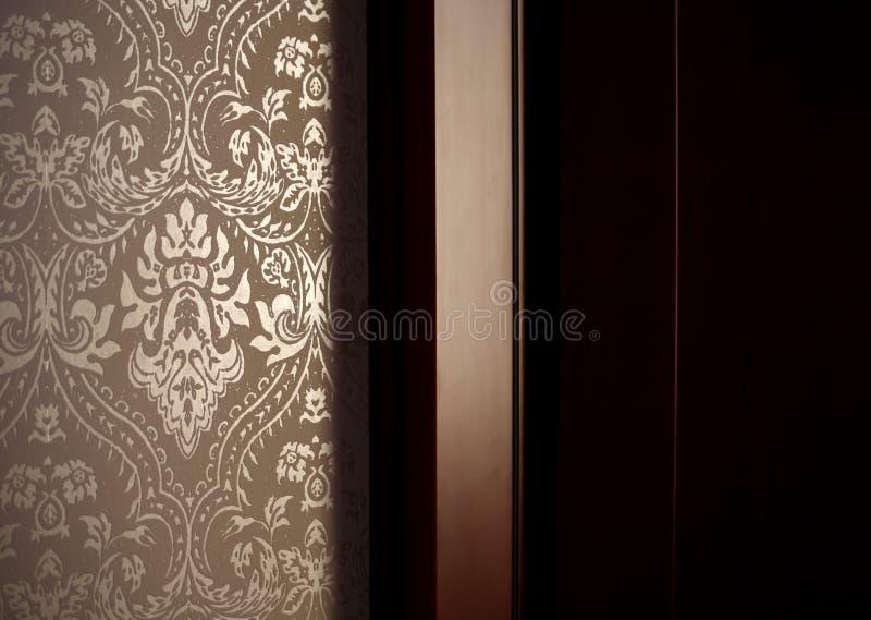 家庭模式墙壁 免版税库存照片
