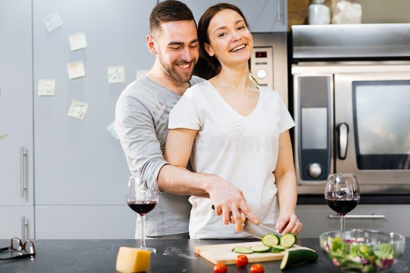 家庭烹饪 免版税库存图片