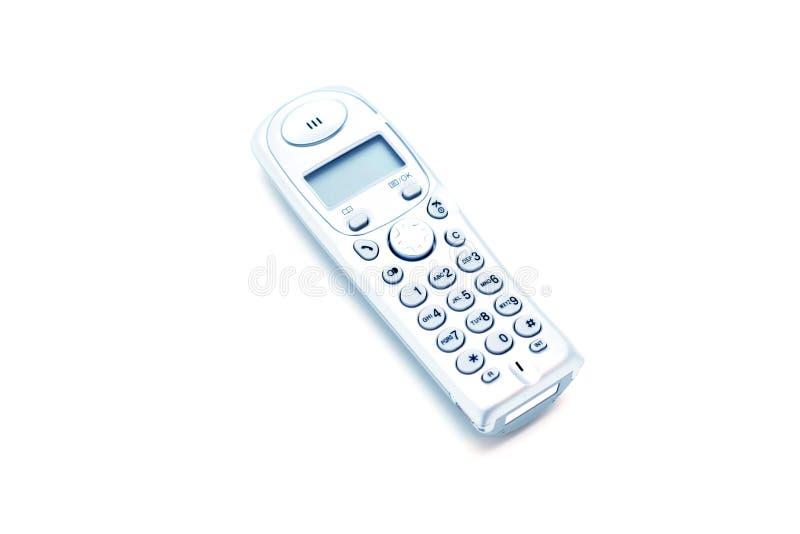 家庭现代电话 免版税库存图片