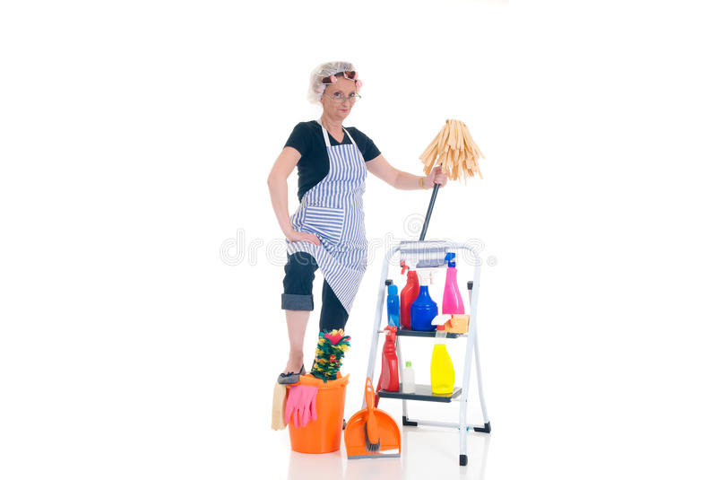 家庭管理 免版税库存照片