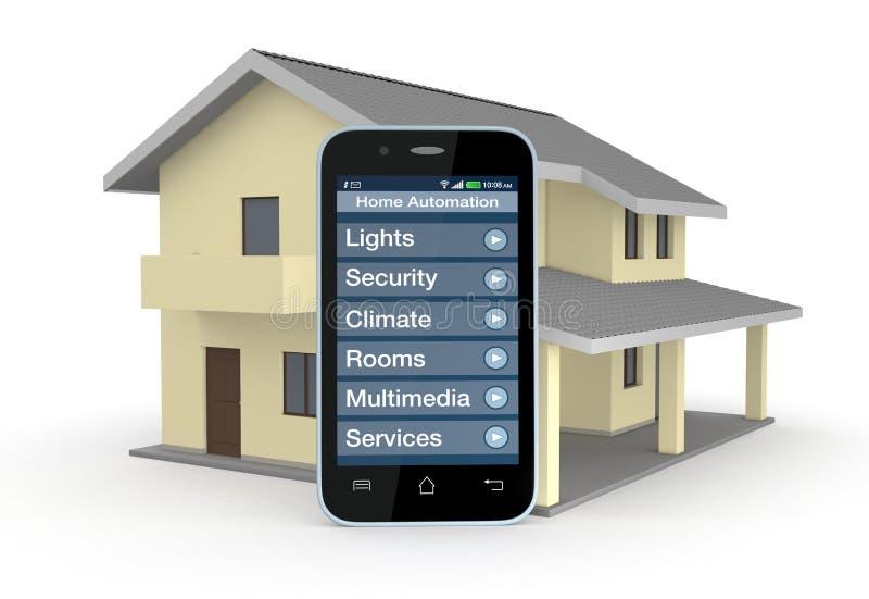 家庭自动化 向量例证