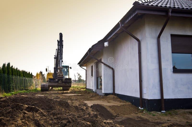 家庭菜园的新的土壤 图库摄影