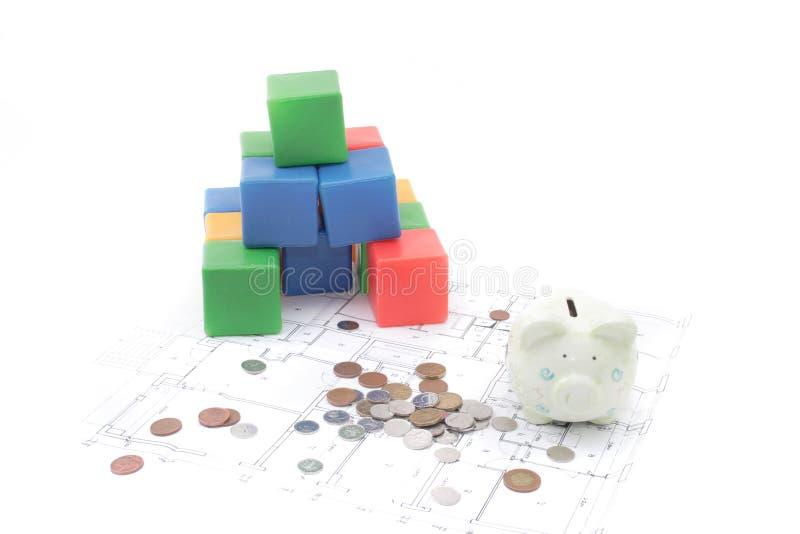 家庭计划 免版税库存照片