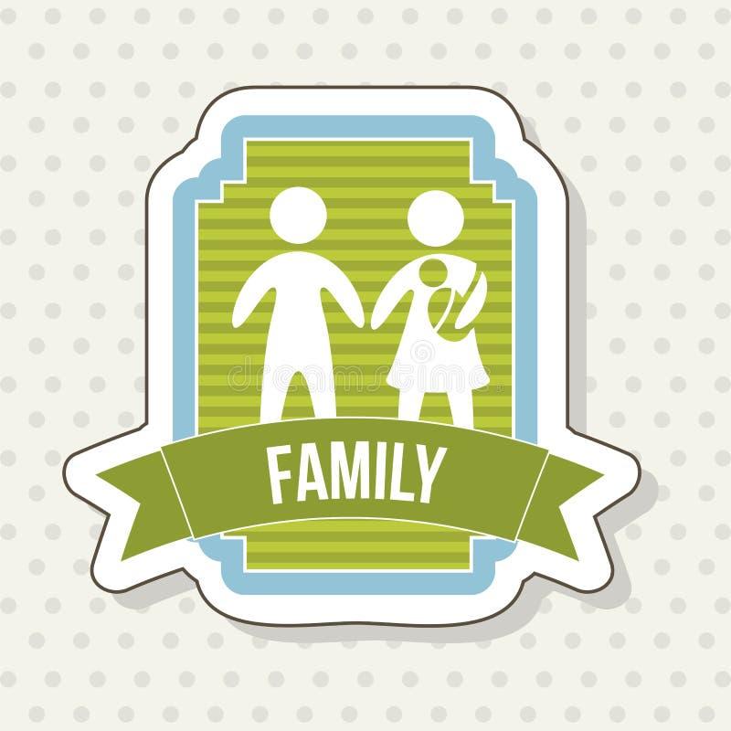 Download 家庭象 向量例证. 插画 包括有 熟悉, 孩子, 女孩, 生成, 系列, 爸爸, 标签, 装饰, 图象, 父项 - 30333763
