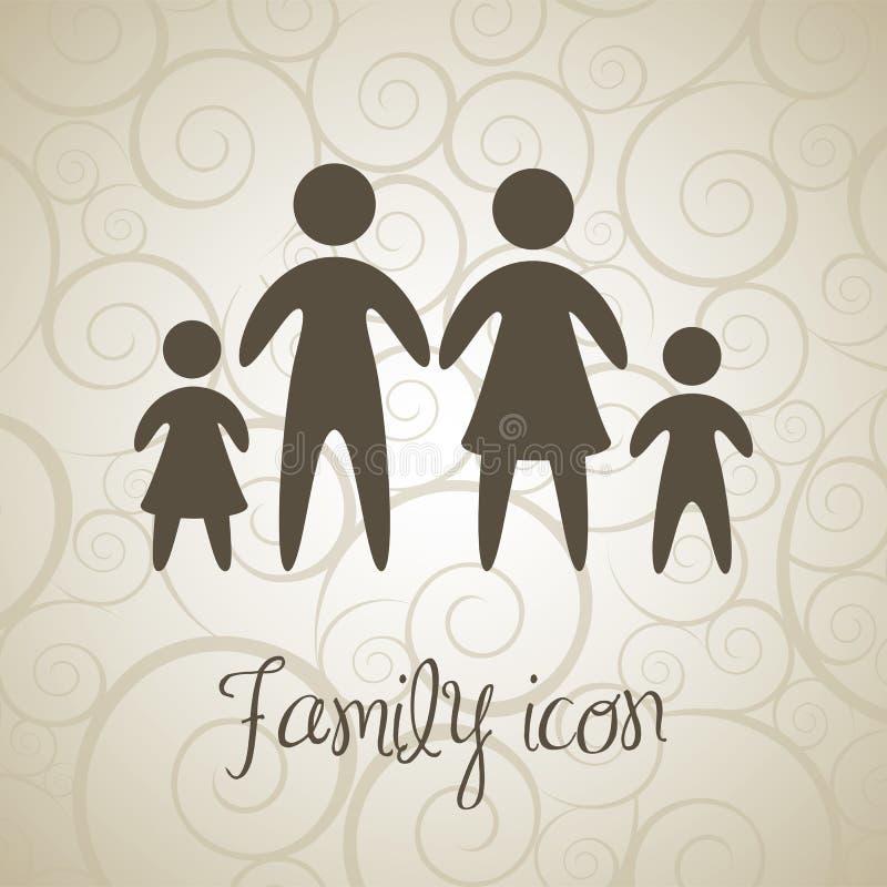 Download 家庭象 向量例证. 插画 包括有 熟悉, 子项, 逗人喜爱, 人们, browne, 父亲, 父项, 安全 - 30333802