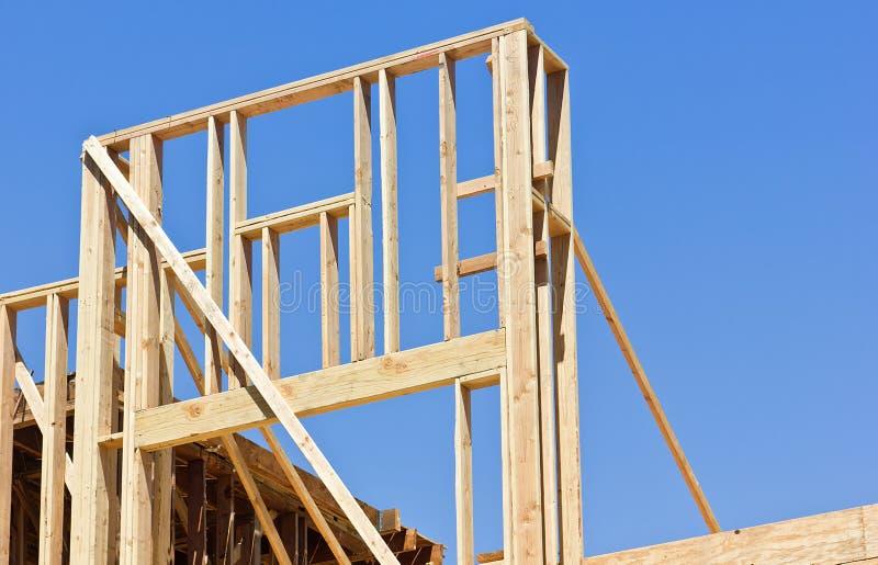 家庭建设中 免版税库存图片