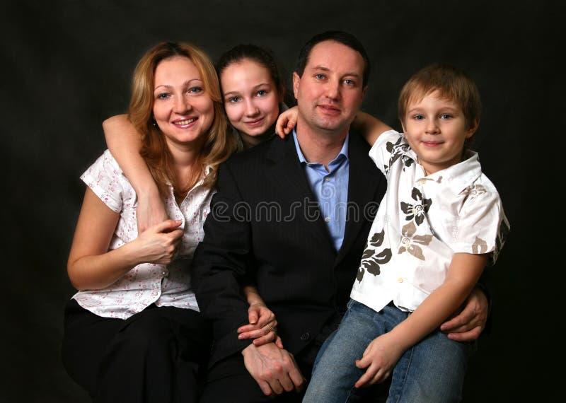 家庭 库存照片