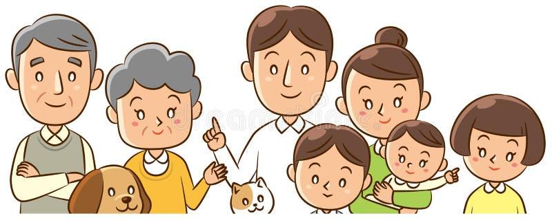 家庭 免版税图库摄影