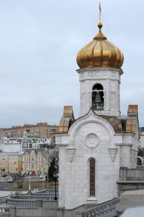 家长式桥梁,莫斯科,俄罗斯 免版税库存照片